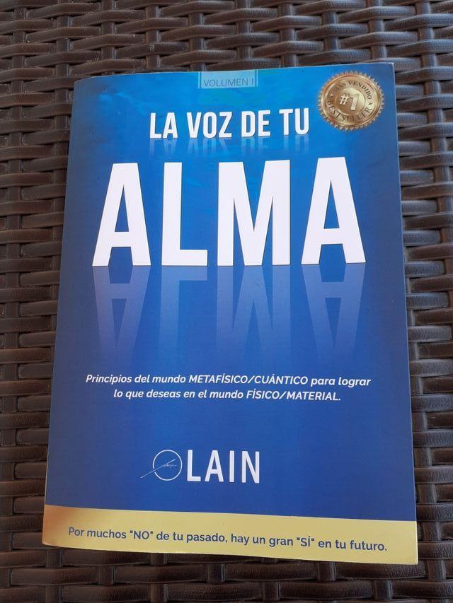 Libro la voz de tu Alma.Lain Garcia Calvo.
