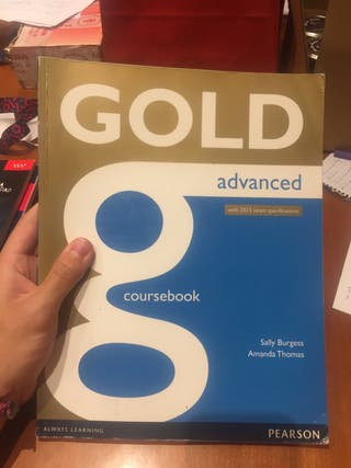 Gold Advanced Coursebook 2° Bach (Ed. Pearson)