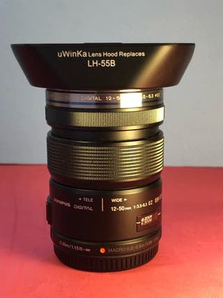 Olympus Zuiko lens 12-50mm f3.5-6.3 Ez MSC