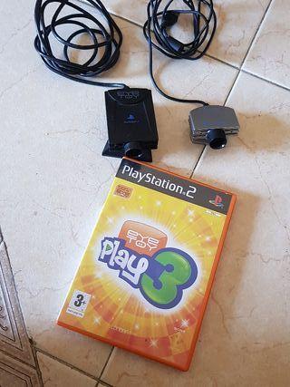 2 Camaras Eye toy + Eye Toy Play 3