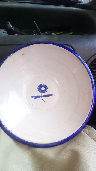 plato de cerámica de 25 cm