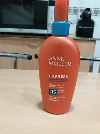Anne Moller proteccion 15 crema solar