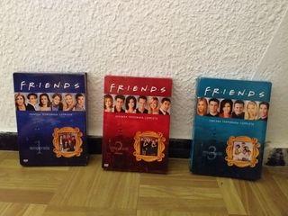 Friends Temporada 1/2/3 DVD's Originales