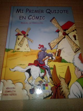 Cómic del Quijote para niños