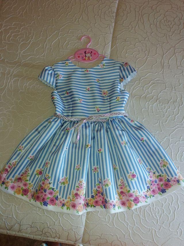 Vestido niña de ORIOL