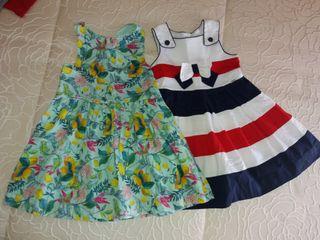 Dos vestidos niña