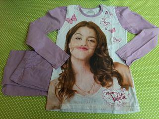 Pijama niña. Talla 8. Violetta