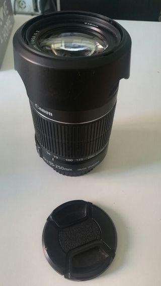 Canon EF-S- Objetivo STM 55-250 mm