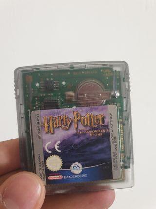 Harry potter y la piedra filosofal para game boy