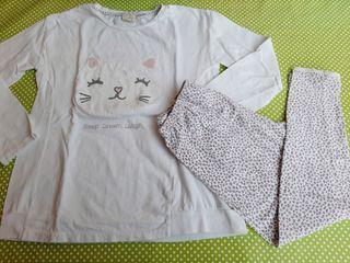 Pijama niña. Talla 9-10. H&M
