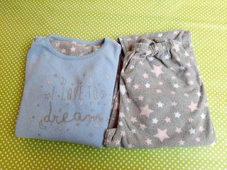 Pijama niña. Talla 8-10.