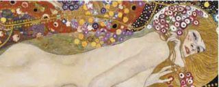 Cuadro Gustav Klimt Serpientes acuaticasII de Ikea