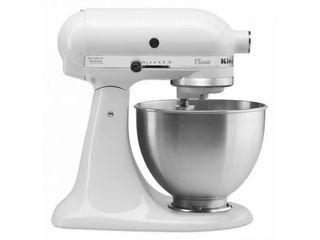robot de cocína kitchenaid blanca