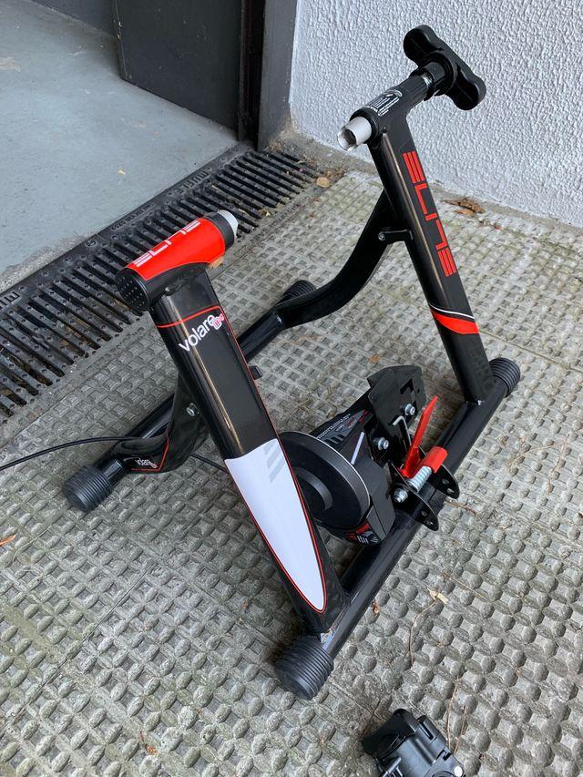 Rodillo entrenamiento bicicleta Elite Volare