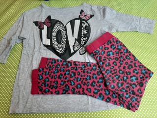 Pijama niña. Talla 8-10. H&M