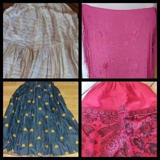 baturra indumentaria (enagua, manton, falda...)
