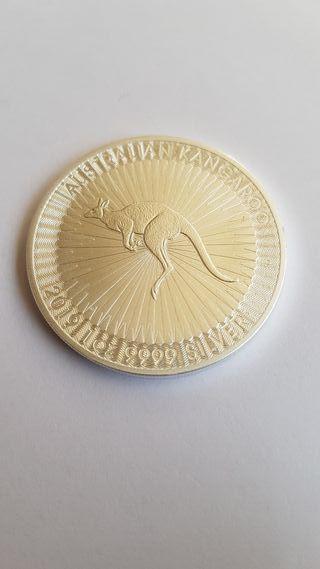 1 Onza de plata pura.Australia.