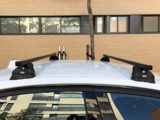 Barras techo BMW 3 F30 y Portabicicletas Techo