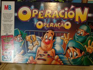 operación, twister, pictureka, lego, y uno.