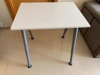 Mesa escritorio 80x60cm regulable en altura