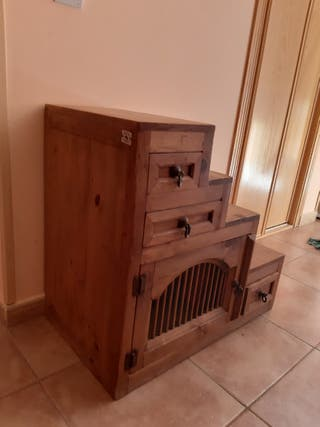 Mueble auxiliar madera mexicana