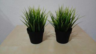 FEJKAPlanta artificial, int/ext hierba, 9 cm