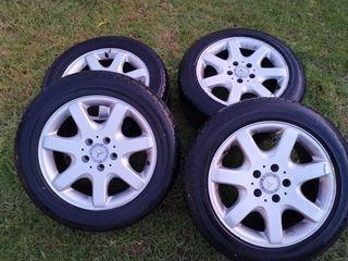 Neumático y llantas original Mercedes