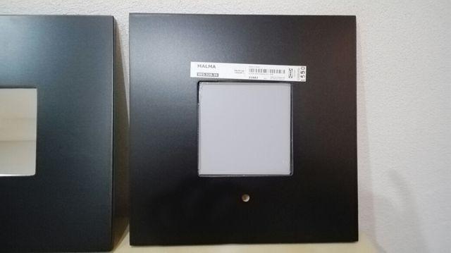 Cuatro Espejitos cuadrados Malma Ikea