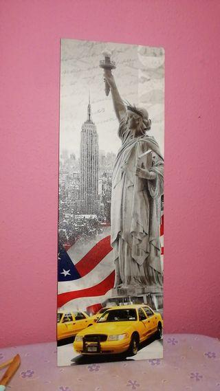 Cuadro estatua de la libertad ikea