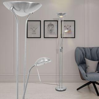vidaXL lámpara de pie con LED regulable 23 W242730