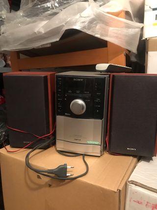Equipo de musica Sony
