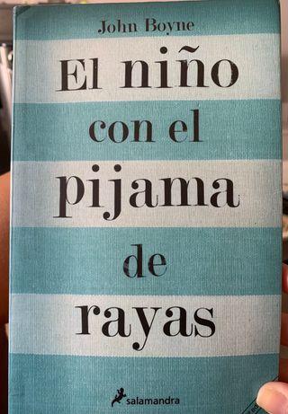 """Libro tapa blanda EL NIÑO CON EL PIJAMA DE RAYAS"""""""