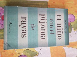 Libro el niño con el pijama de rayas