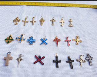 Colección cruces NUEVO A ESTRENAR