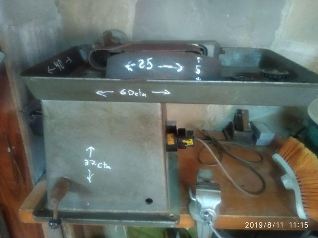 motores varios y lijadora plana