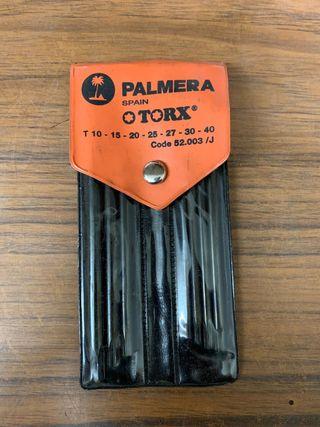Vendo llaves torx Palmera