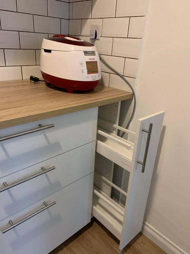 Mueble cocina ikea (99 euros en ikea y sin montar) de ...