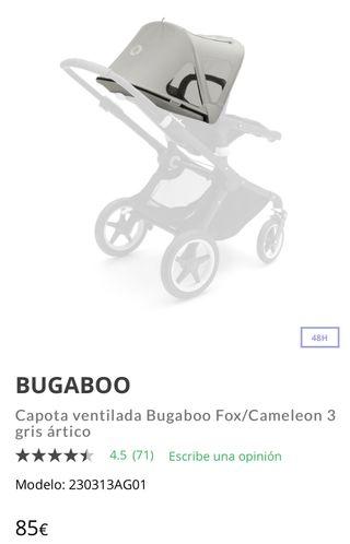 CAPOTA VENTILADA+MOSQUITERA BOGABOO CAMALEON 3