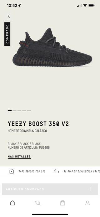 Yeezy black 37.5