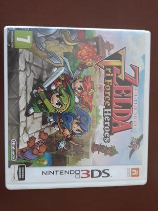 The Legend of ZELDA Triforce héroes Nintendo 3ds