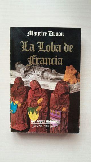 Libro La Loba de Francia. Maurice Druon.