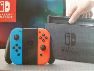 Nintendo Switch con FIFA 19 y accesorios