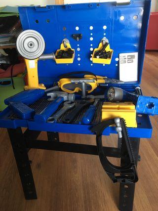 Juguete taller mecánico