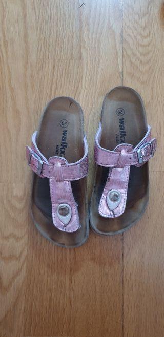 sandalias de dedo niña número 29