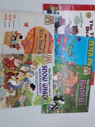 5 libros de inglés de disney