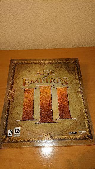 PC: Age of Empires 3 edicion caja extras