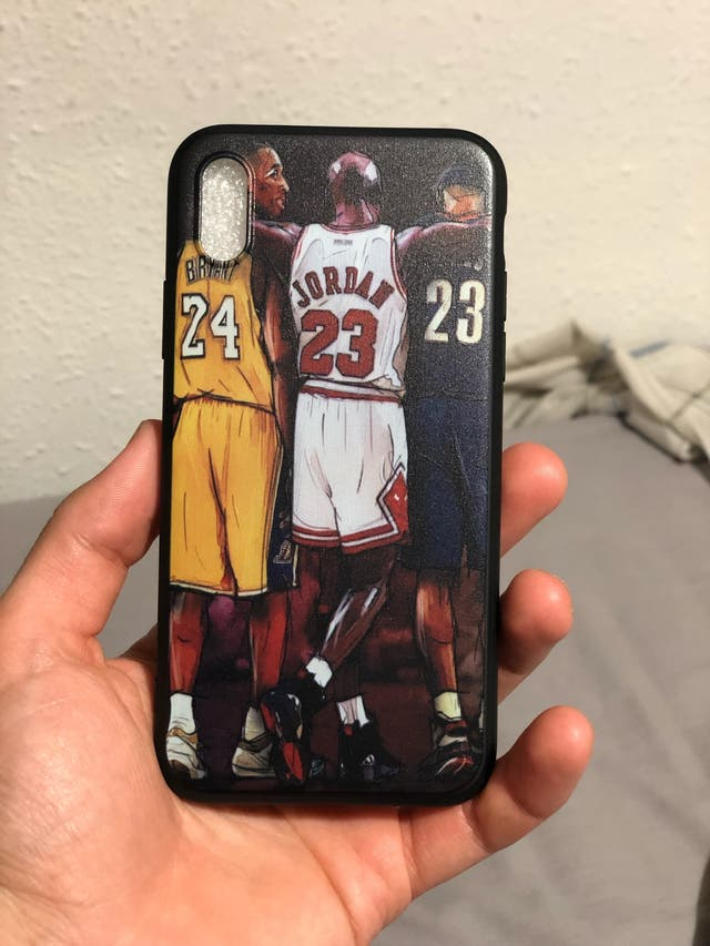 iPhone X / XS funda Jordan Kobe Lebron