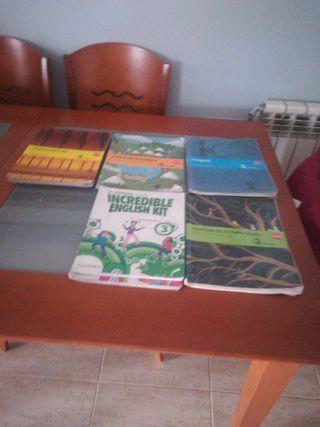 libros de texto de tercero y cuarto de paco rabal