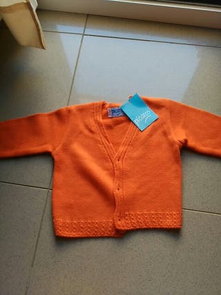 Rebeca de lana Talla 2 años