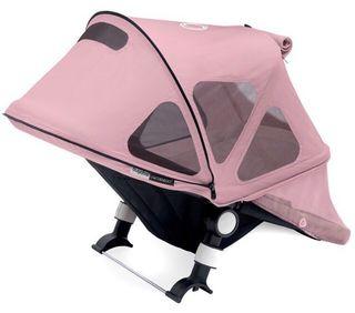 Capota ventilada bugaboo rosa extensible